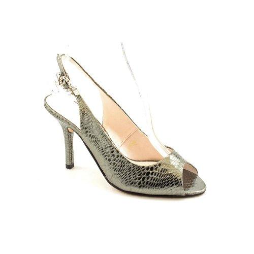 Caparros Uruguay Mercury High-Heel, Peep-Toe Shoe 8.5