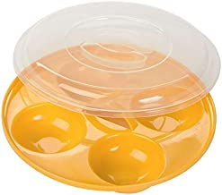 (1, White) - Progressive International Microwavable Four Egg Poacher