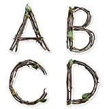 Creative Teaching Press Rustic Twigs 6' Designer Letters (Decorate Party Signs, Hallways, Doors, Rooms, Offices, Learning Spaces and More)
