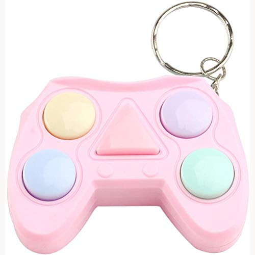 CZSMART Video Game Keychain, Game Controller Handle Key Ring Video Game Keychain Pendant for Video Game Party Favors Birthday Baby Shower Child Present