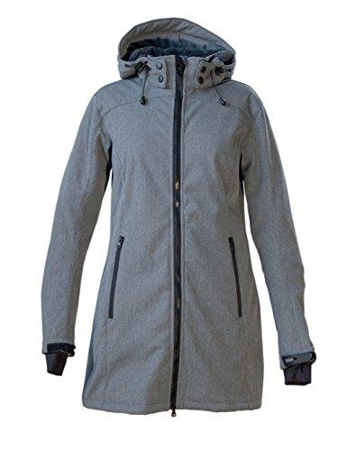 Deproc Active Damen Mantel Softshellmantel, Grau (Grey), 52