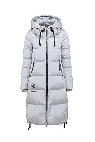 BOSIDENG Damen Lange Daunenmantel mit Kapuze - Perfekt für kalte Tage