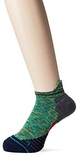 Stance Endeavor Tab Low Cut Mens Running Socks - Green - Large (8.5 - 11.5 UK)