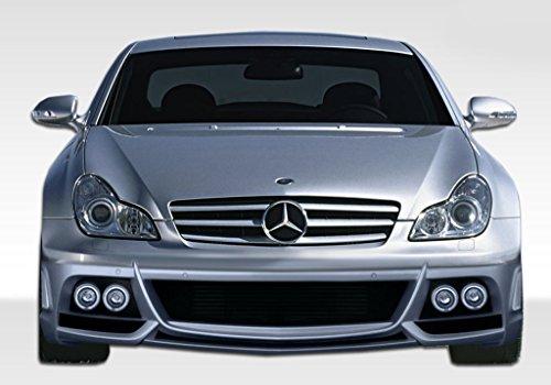ED-KVW-143 FRP (Fiberglass Reinforced Plastics) W-1 Style Front Bumper - Compatible With/Replacement For CLS 2006-2011 - 3 Piece