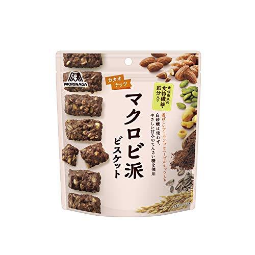 森永 マクロビ派ビスケットカカオナッツ100g 5袋