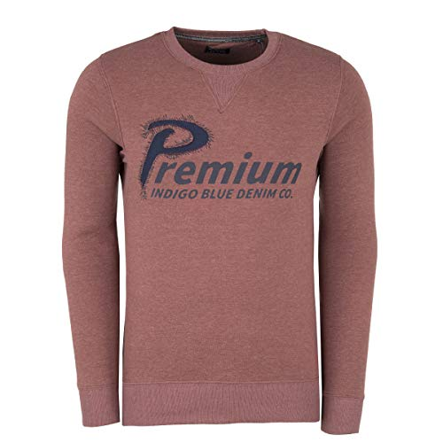Jack & Jones Premium Sweat-Shirt pour Homme - Marron - Small