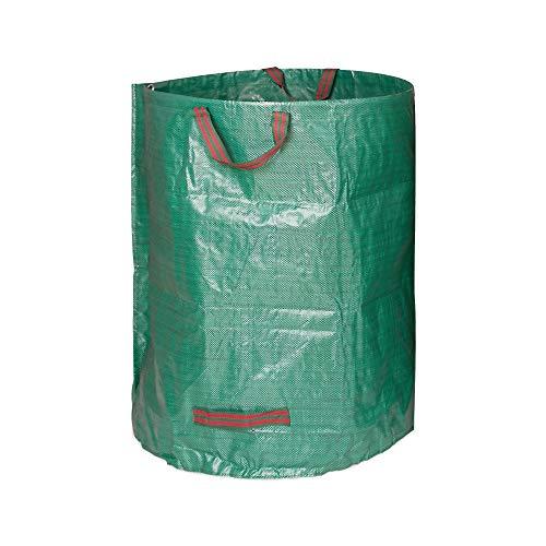 Edaygo Gartenabfallsack Laubsack Gartensack aus Polypropylen-Gewebe (PP), 300 Liter
