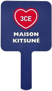 3CE Maison Kitsune Square Mini Hand Mirror Blue