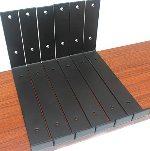 6 Pack - Matte Black 9.25