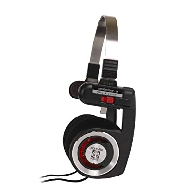 Koss Porta Pro On-Ear Stereo Headphones - Red Hot from Koss
