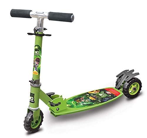Toyzone - 66026 Ben 10 Kids Skate Kick Scooter -Multicolour