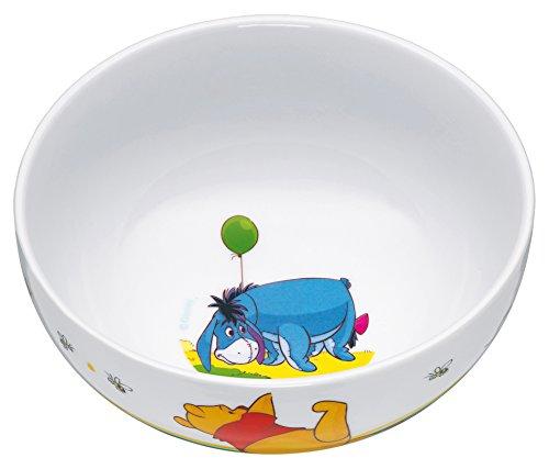 WMF Disney Winnie Pooh Kindergeschirr Kinder-Müslischale, Ø 13,8 cm, Porzellan, spülmaschinengeeignet, farb- und lebensmittelecht