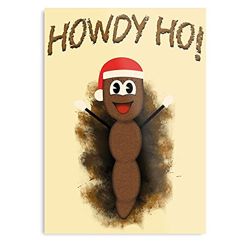 Mr South Cairn Park Hankey Xmas Christmas Poo - The Best and Newest Poster for Wall Art Home Decor Room I - Customize