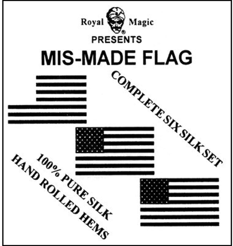 Murphys Mis-Made Flag (6 Silk Set) by Royal Magic B00FK9TJ26 Haltbarer Service      Vollständige Spezifikation