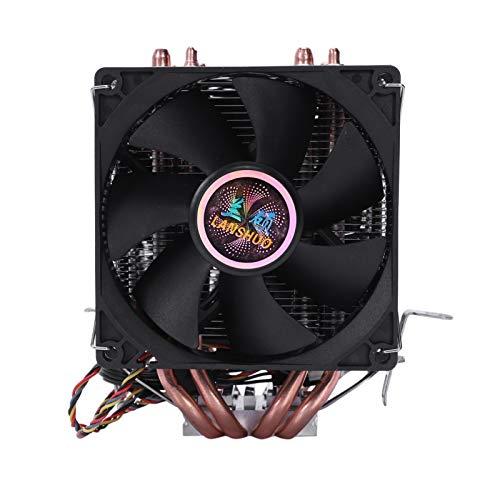 Tranquilo 4 Tubo DE Calor 4 FINILLO DE CPU De Tres Asientos Inalámbricos El Fregadero De Calor del Refrigerador del Radiador Es Intel LGA 1155/1156/1366 Frío Y Frío Fácil de Transportar e Instalar