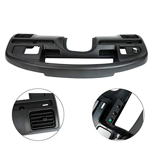 TYFYB Instrument Dash Cluster Bezel Dash Panel Trim Surround Replacement for (Diesel Engines Only) 1994-1997 F250 F350 F Series Super Duty F4TZ-15044D70-C