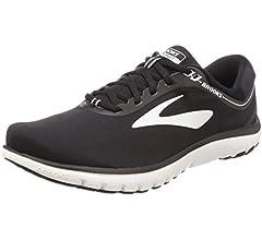 Brooks PureFlow 7 - Zapatillas para correr para hombre, Negro (Negro/Ébano/Agua Profundo), 38.5 EU: Amazon.es: Zapatos y complementos