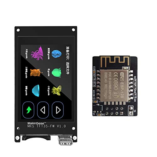 JIJIONG 3D Printer/Fit For MK.S TFT35 V1.0 Touch Screen Smart Display Controller 3d Printer Parts 3.5 Inch Wifi Wireless Control Preview Gcode (Color : SDFront wifi)