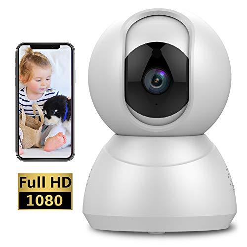 Keyke Camera IP Wifi 1080p 💰 Da 39,99€ a 27,99€ ✂️ Coupon: KEYKE2799Notturna, Audio-Bidirezionale, Notifiche di Movimento, Servizio Cloud - App iOS/Android