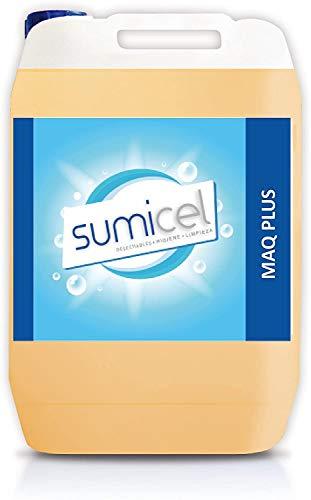 Sumicel Detergente líquido Concentrado para el Lavado en máquina de vajillas y cristalería, Pack de 2 garrafas de 5 litros
