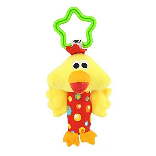 Furphy Happy Monkey Poussette Pendentif Confort Jouet 0-1 Voiture lit Suspendu Pendaison Animal Main saisir hochet Panier Jouet de Confort - coloré