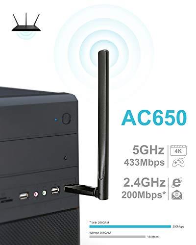 Build My PC, PC Builder, BrosTrend AC5 - AC600 External Antenna