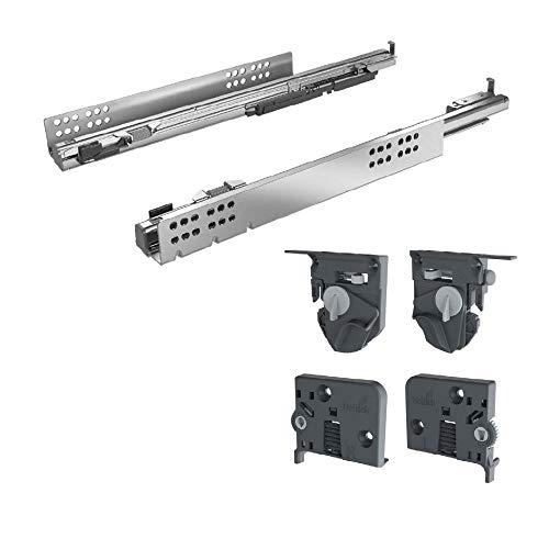 Hettich Vollauszug Quadro 4D V6 mit Silent System für Holzschubkästen 420 mm