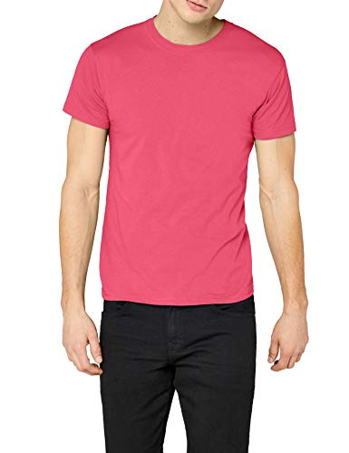 Fruit of the Loom SS022M T-Shirt, Fuchsia, XL Homme