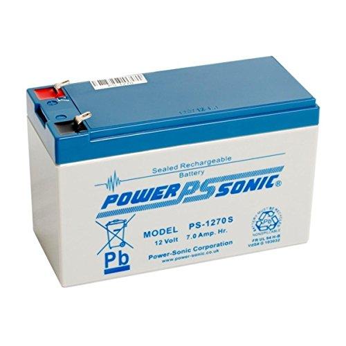 PS-1270 Power Sonic VRLA Batterie 7Ah (PS-1270VDS)