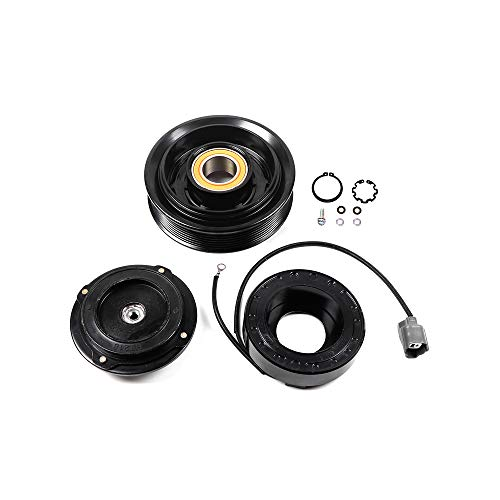 SCITOO Compatible with CO 28003C Air Conditioning Compressor Clutch for Honda Accord 2.4L 2003-2007