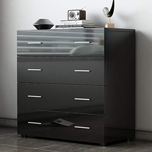 Aparadores de gran capacidad y diseño moderno(black)