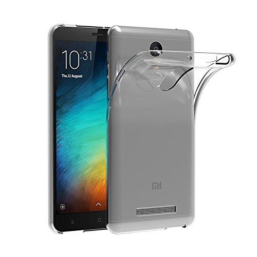 MaiJin Custodia per Xiaomi Redmi Note 3 / Redmi Note3 PRO (5,5 Pollici) Morbido TPU Cover Cristallo di Rocca Trasparente Anti Scivolo Protezione Posteriore Cover