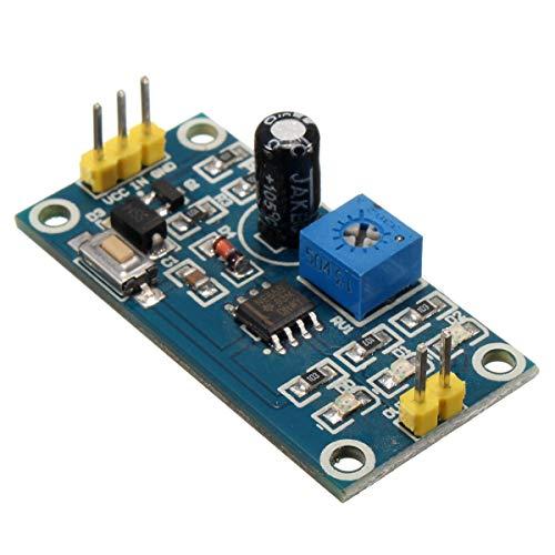 LICHONGUI 5pcs DC 5V-12V Interruptor de Temporizador de retardo Ajustable NE555 Módulo de Escudo de relé