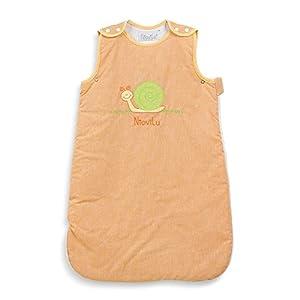 NioviLu Saco de dormir para bebé – Escargot rigolo (0-6 meses / 70 cm – 1 Tog)
