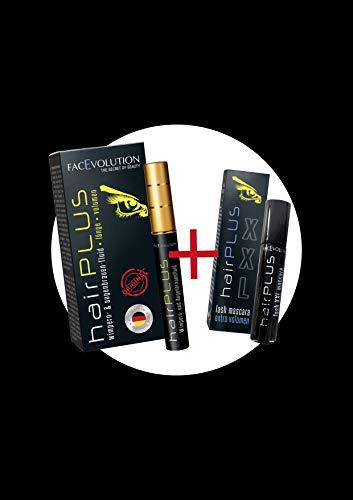 Facevolution Hairplus Classic 4,5ml + Facevolution XXL Lash Mascara 3ml GRATIS (SET)