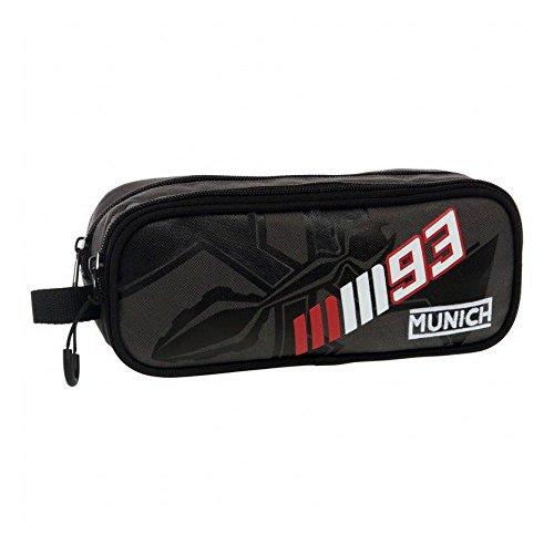 Munich Marc Marquez 93 Neceser de Viaje, 1.45 litros, Color Negro