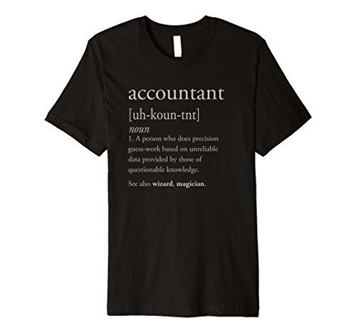 Buchhalter Definition Shirt–Funny CPA Geschenk