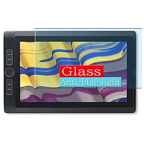 VacFun Filtro Luz Azul Vidrio Templado Protector de Pantalla, compatible con Wacom 13.3 MobileStudio Pro 13 DTHW1321HK0A 13.3 Visible Area Cristal Screen Protector(cobertura no completa)