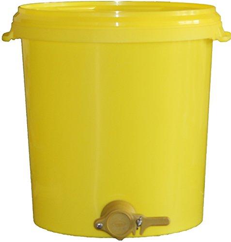 Germerott Bienentechnik Abfülleimer 40 kg mit Quetschhahn