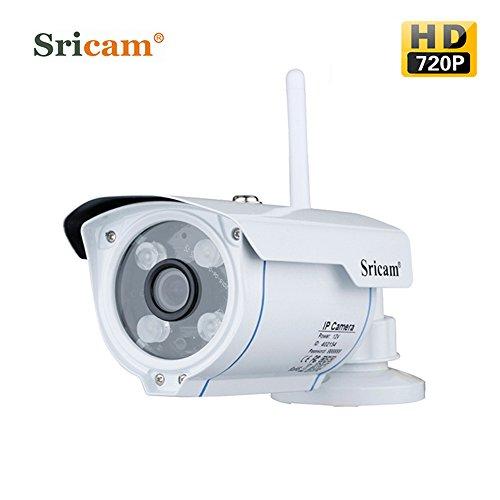Montaje de monitoreo leshp 720P HD 1,0megapíxeles WiFi para Exteriores Smart cámara WiFi inalámbrica cámara intélligente de Seguridad Plug &...