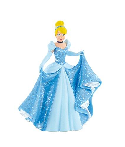 Bullyland 12501 - Spielfigur, Walt Disney Cinderella, ca. 10,5 cm groß, liebevoll handbemalte Figur, PVC-frei, tolles Geschenk für Jungen und Mädchen zum fantasievollen Spielen
