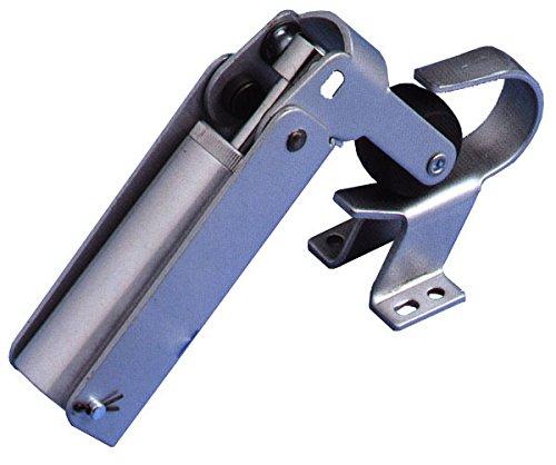 Justor FR 2G 0222.01 Türriegel, verstellbar, silberfarben