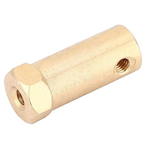 LANTRO JS - Conector de motor de acoplamiento, 5 piezas de accesorios de motor de acoplador hexagonal con tornillo y llave para ruedas de coche, motor de eje de neumáticos(3mm)