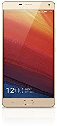 Gionee Marathon M5 Plus Smart Phone, Champagne Gold