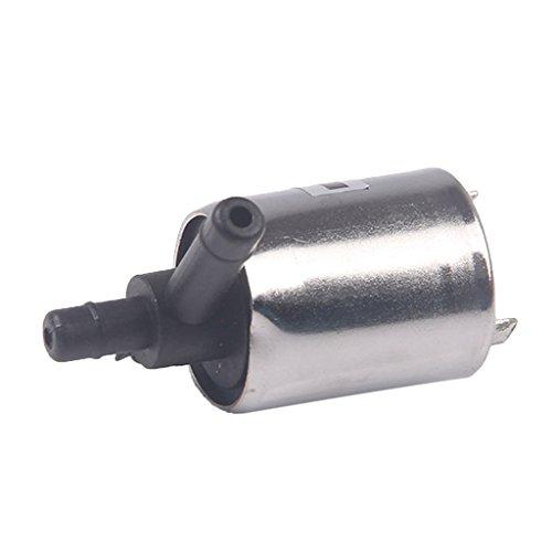 12/24V DC Mini Elettrovalvola Di Plastica Per L'aria Di Acqua Gas N/C Normalmente Chiusa - 12V