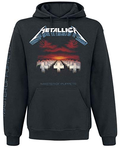 Metallica Master Of Puppets Sudadera con capucha Negro L