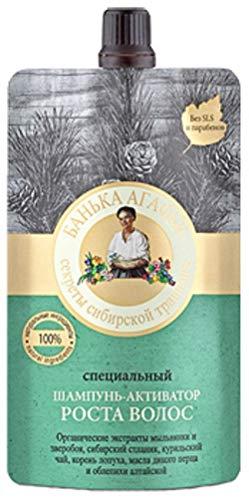 Spezial- Shampoo Haarwachstum -Aktivator, 100ml Grossmuter Agafia Рецепты бабушки Агафьи Специальный шампунь-активатор роста волос