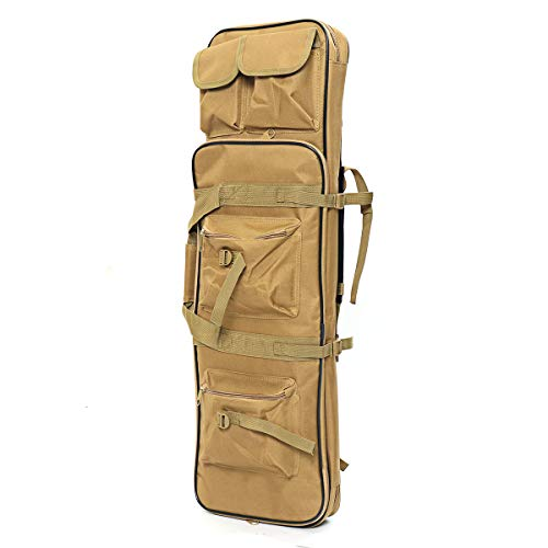 Luyo, zaino tattico per attività all'aria aperta, zaino militare Molle Carrier Esercito Escursionismo Caccia Tote Bag, Unisex - Adulto, Verde, 85 x 26 x 8 CM/33.5x10x3'