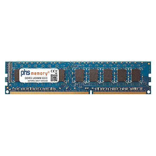 PHS-memory 8GB RAM módulo para Gigabyte GA-Z97X-UD5H-BK (Rev. 1.0) DDR3 UDIMM ECC 1600MHz