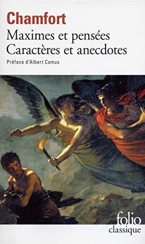 Maximes et pensées : Caractères et anecdotes (Folio (Gallimard))